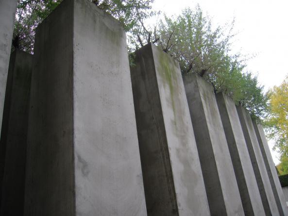 Konstverk vid Judiska Museet i Berlin