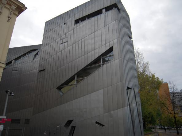 Nybyggnation vid Judiska Museet i Berlin