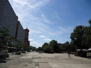 Bild på Alexanderplatz i Berlin