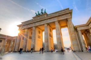 Bild på Brandenburger Tor i Berlin
