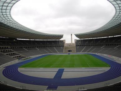 Inuti Olympiastadion
