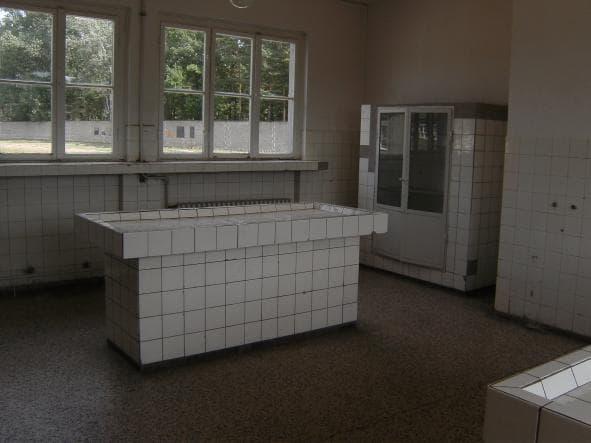 Patologsbord i Sachsenhausen