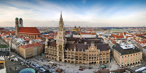 Marienplatz i München
