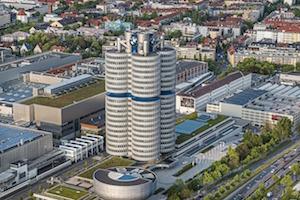 Bild på BMW Museum i München