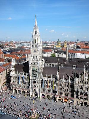 Bild på Marienplatz i München